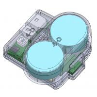 Vue en 3D de l'emetteur DECRO